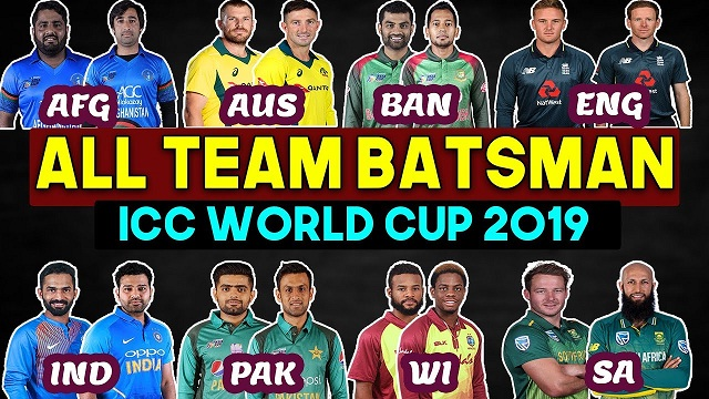 all team batsman
