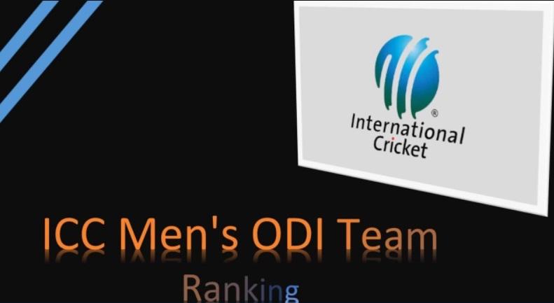 Mens ODI Team Rankings