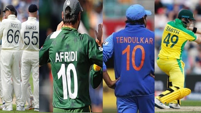 jersey numbers cricket